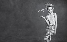 "Ginta Lapina & Fei Fei Sun Star in Neiman Marcus ""Art of Fashion"" Spring 2014 Ads"