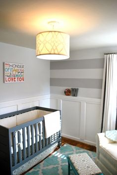 i'd love to try to re-create that wall art...so many fabulous things about this nursery