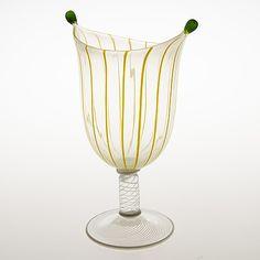 Glass Design, Design Art, Hurricane Glass, Home Deco, Modern Contemporary, Glass Art, Retro Vintage, Objects, Tableware