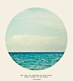Salt Water Cure // Tina Crespo #ocean