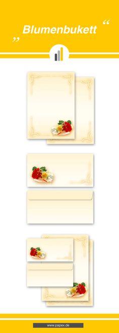 Briefpapier / Motivpapier BLUMENBUKETT - Sagen Sie es »durch die Blume« mit unseren variantenreichen Blütenmotiven oder Designs aus vielen anderen Themenbereichen, um einem persönlichen Schreiben den richtigen Rahmen zu verleihen. Das Verwenden Sie unsere Produkte als Werbewirksame Zielgruppenmailings, Weihnachtsgrüße, für Angebote, als Saison-Briefpapier, für Einladungen, Glückwünsche, Speisekarteneinlagen, Aktionsprogramme, Feste, als Aushang im Schaufenster und für weitere tausend…