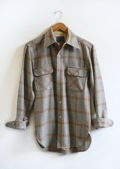 Vintage Pendelton Brown Plaid.jpg