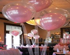 originales globos transparentes fiesta cumpleaños