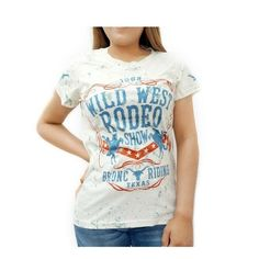 Wild West Rodeo Printed T-Shirt Western Country Horse Show Shirt Regular Size Rodeo Shirts, Western Purses, Gifts For Horse Lovers, Cute Horses, Horse Print, Show Horses, Wild West, Westerns, T Shirts For Women