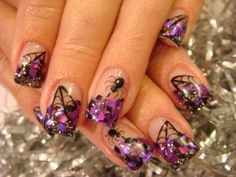 halloween nail art | HALLOWEEN NAIL ACRYLIC ART CLASS! | Nails Acrylic