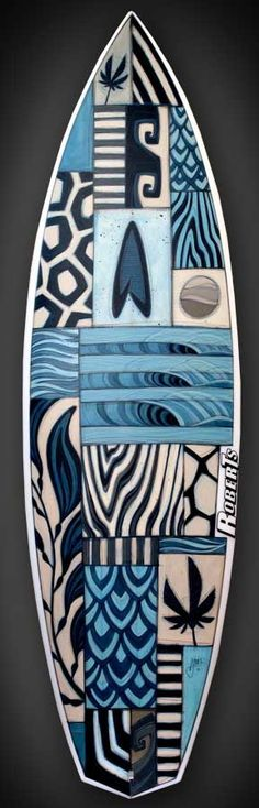 Surfing and beach stuff on pinterest 169 pins for Awesome surfboard designs