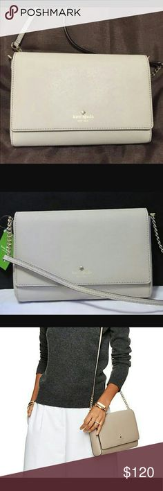 Kate spade charlotte street alek crossbody Kate spade charlotte street alek crossbody bag jn clock tower. Super cute bag. I used it for one dinner. Clearing out the purse collection. Smoke and cat free home. kate spade Bags Crossbody Bags
