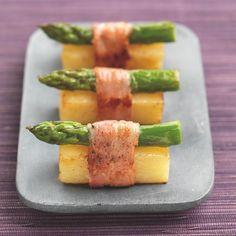sushi d'asperges