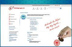 Turkiye.gov.tr- E-Türkiye / E-Devlet http://www.sgk.tc/e-devlet-2/ssk-e-turkiye-sgk.html