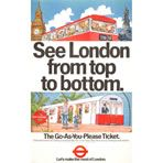 See London from top to bottom - unknown artist (1980)