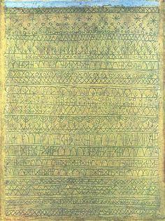 Пастораль (Ритмы), 1927. Пауль Клее