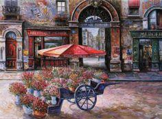 Vadim Suljakov 1960 | Russian landscape painter | European themes | Tutt'Art@ | Pittura * Scultura * Poesia * Musica |