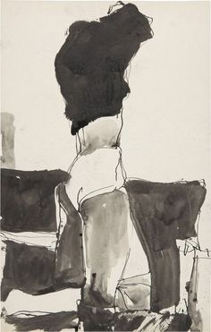 Drawing from Richard Diebenkorn
