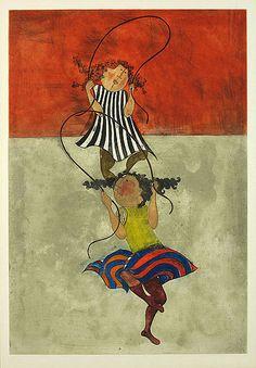 Graciela Rodo Boulanger, Two Girls Jumping Rope