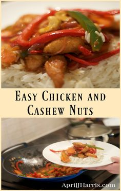 Easy Chicken and Cas