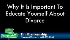 Why It Is Important To Educate Yourself About Divorce | Santa Clarita  We always think about having to finish the divorce process as fast as we can, but have you ever thought about why you should educate yourself about divorce as well, and what benefits you will get out of it? Find out how.