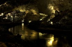Mammoth Cave National Park in Kentucky, the world's longest cave system