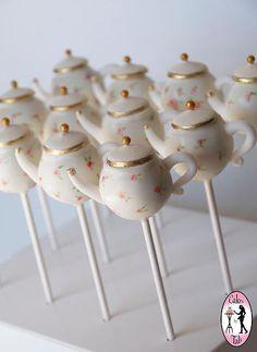 Teapot Cake Pops                                                                                                                                                     More