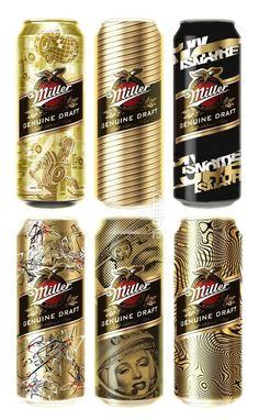 Miller #packaging // Repinned by www.impack.at
