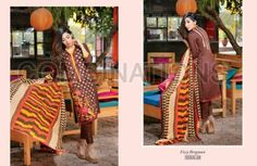 Combination Embroidered Dresses Riaz Arts Collection 2016