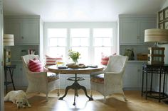 The Polished Pebble: Country Living  in love with this room!