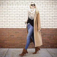 Regram @blaireadiebee. Stepping into fall  #schutzshoes #655madison #schutzfall Style name: Fadhila in 'Brownie' | Link in our profile to shop!