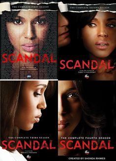 Scandal Seasons 1-4 DVD Set