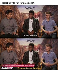 Thomas and Dexter