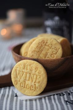 Parmesankekse Rezept für Keksstempel I Kekse zum Rotwein I Casa di Falcone