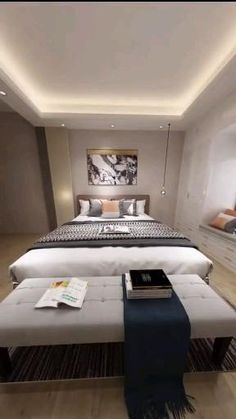 Bedroom Closet Design, Bedroom Furniture Design, Master Bedroom Design, Bedroom Ideas, Diy Furniture, Indian Bedroom Design, Ideas For Bedrooms, Lighting Ideas Bedroom, Bedroom Decorating Ideas