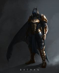 Batman Redesign mage by TheFearMaster.deviantart.com on @DeviantArt