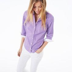 Striped Stretch Shirt