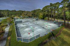 Enjoy a game of Tennis while staying on #jekyllisland. www.jekyllclub.com
