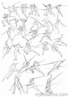 Art Reference Poses - New Pin Action Pose Reference, Figure Drawing Reference, Art Reference Poses, Action Poses, Anatomy Sketches, Anatomy Drawing, Drawing Sketches, Drawing Drawing, Drawing Ideas