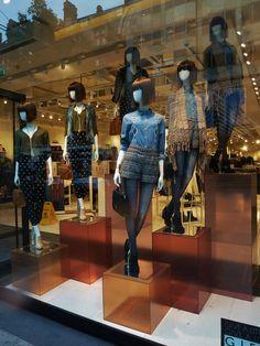 Window Visual Merchandising | VM | Window Display | Forever 21, AW 13, London.