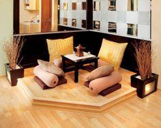 Desain Ruang Tamu Lesehan Rumah Minimimalis Modern