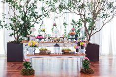 Veja 60 opções de mesas decoradas para festas infantis - Gravidez e Filhos - UOL Mulher. Tema passarinhos para aniversário de menina. Birds for little girls.
