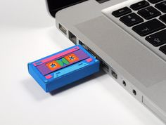 Paper USB Tape by Zim And Zou , via Behance