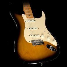 Used 2009 Fender Eric Johnson Stratocaster Electric Guitar 2-Tone Sunburst