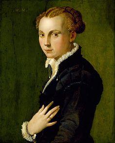 Unknown Italian - Portrait of a Woman - Google Art Project (Museum of Fine Arts, Houston)