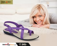 Simple and elegant, these sandals can accompany you anywhere. See more here -