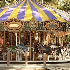 Keep-Around-Carousel at Happy Hollow Park & Zoo San Jose, CA #Kids #Events