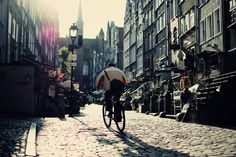 """Poland, Gdansk, Mariacka Street"""" by Erik Witsoe http://www.polen.travel/sv/gdansk/"""