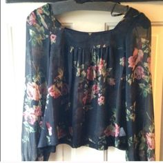 For Sale: Jessica Simpson Blouse Flower for $35