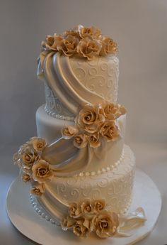 Wedding cake. - #Cake #Wedding