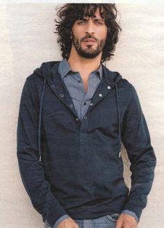 David Kammenos. Incredible hair!