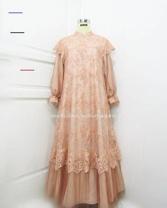 dresses hijab syar'i – Hijab Fashion 2020 Kebaya Muslim, Dress Brokat Muslim, Dress Brokat Modern, Kebaya Modern Dress, Dress Pesta, Muslim Dress, Dress Brukat, Hijab Dress Party, Batik Dress