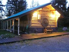Commercial Property for Sale - 29224 Alaska HWY, Buckinghorse River, BC V0C 2B0 - MLS® ID 10091575 Commercial Property For Sale, Commercial Real Estate, Log Homes For Sale, Lots For Sale, Rv Parks, Investment Property, Real Estate Investing, Gas Station, Bed And Breakfast