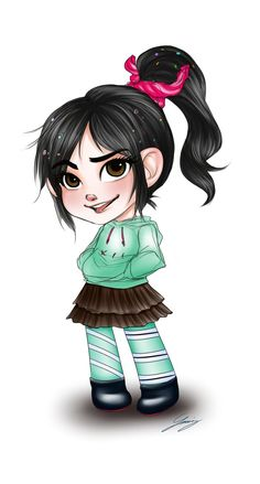 Vanellope! Love this girl !
