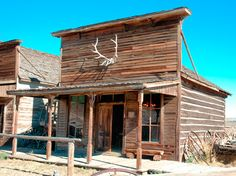 The Rivers Saloon—1888 - Old Trail Town #LiquidGoldSalvagedWood